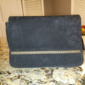 Stuart Weitzman Vintage  Suede Handbag